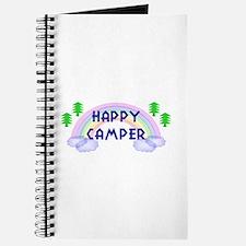 """Happy Camper"" Journal"
