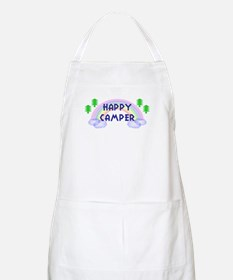 """Happy Camper"" BBQ Apron"