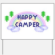 """""""Happy Camper"""" Yard Sign"""