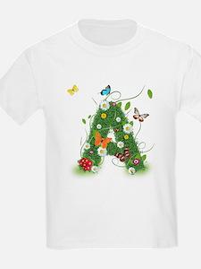 Monogramed Letter A T-Shirt