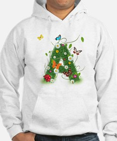 Monogramed Letter A Hoodie