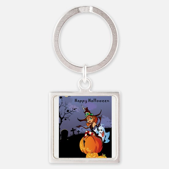 Halloween theme design illustration Keychains