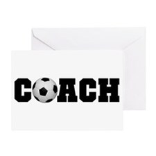 Soccer Coach Greeting Card