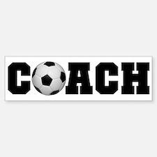 Soccer Coach Bumper Car Car Sticker
