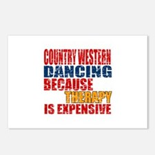 Country Western dancing B Postcards (Package of 8)