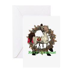 Tumbleweed Horse Christmas Card