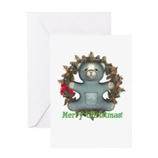 Teddy Bear Christmas Card