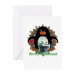 Pongo Penguin Christmas Card