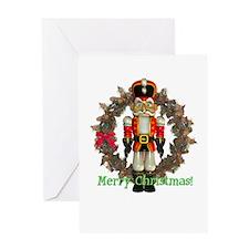 Nutcracker (Red) Christmas Card