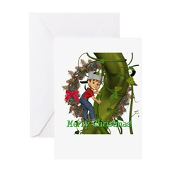 Jack and the Beanstalk Christmas Card