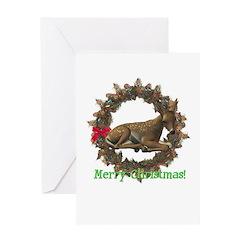 Fawn Christmas Card
