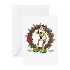 Chomper Christmas Card