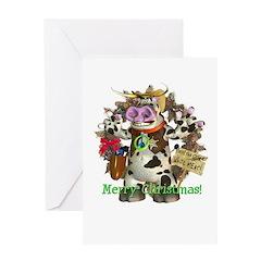 Billy Bull Christmas Card