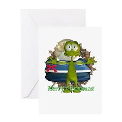Al Alien Christmas Card