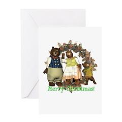The Three Bears Christmas Card