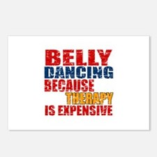 Belly dancing Because The Postcards (Package of 8)
