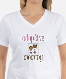 Pink Adoptive Mommy Shirt