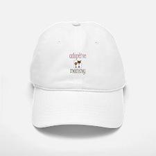 Pink Adoptive Mommy Baseball Baseball Cap
