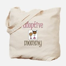 Pink Adoptive Mommy Tote Bag