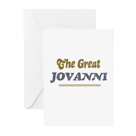 Jovanni Greeting Cards (Pk of 10)