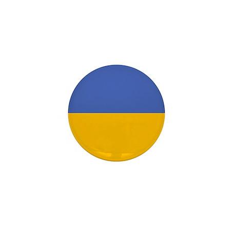 """Ukraine Flag"" Mini Button (10 pack)"