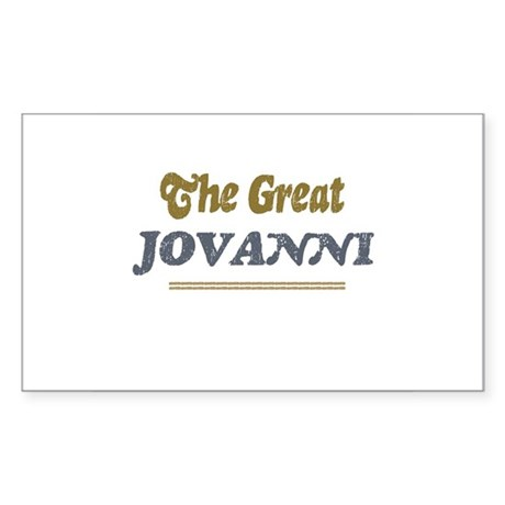 Jovanni Rectangle Sticker