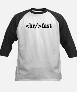 breakfast HTML Baseball Jersey