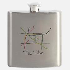 Cute Lines Flask