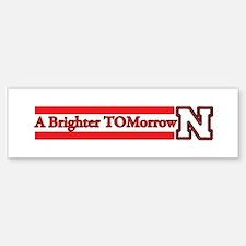 A Brighter TOMorrow for Nebraska Bumper Bumper Bumper Sticker