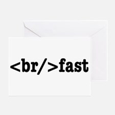 breakfast HTML Greeting Cards