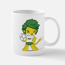 South Africa mascot zakumi Mugs