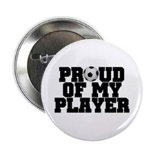 "Soccer Player Pride 2.25"" Button"