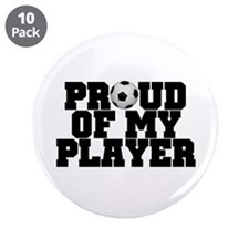 "Soccer Player Pride 3.5"" Button (10 pack)"