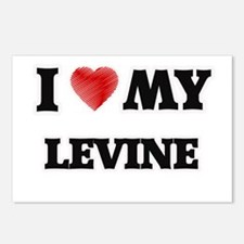 I love my Levine Postcards (Package of 8)