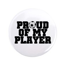 "Soccer Player Pride 3.5"" Button"