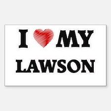 I love my Lawson Decal