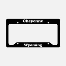 Cheyenne WY License Plate Holder