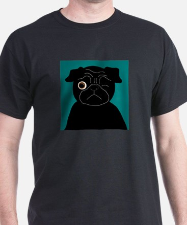 Wink, the Pug T-Shirt