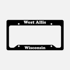West Allis WI License Plate Holder