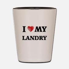 I love my Landry Shot Glass