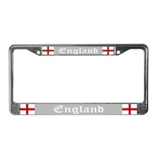 """England Flag"" License Plate Frame"