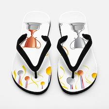 Trophies medals art Flip Flops