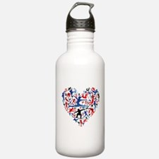 Athletic player made h Water Bottle