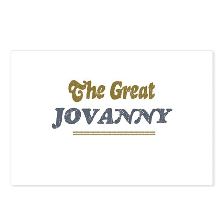 Jovanny Postcards (Package of 8)