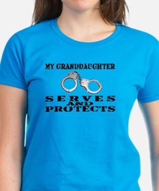 Serves & Protects Cuffs - Grnddghtr Tee