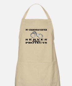 Serves & Protects Cuffs - Grnddghtr BBQ Apron