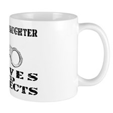 Serves & Protects Cuffs - Grnddghtr Mug