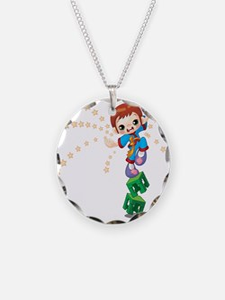 Karate kid design Necklace