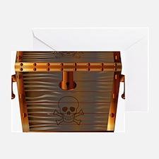 Unique Treasure chest Greeting Card