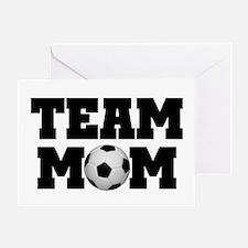 Soccer Team Mom Greeting Card